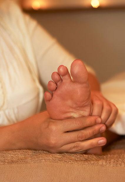 i kväll massage svälja